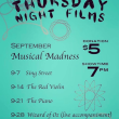Sept Films: Musical Madness, Thurs 7pm